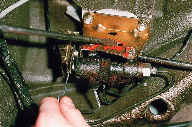 Настройка регулятора давления тормозов