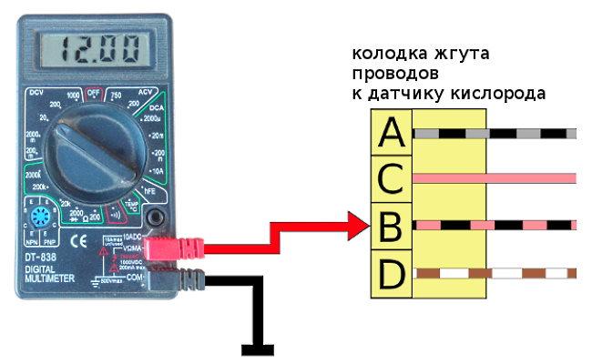 как проверить датчик кислорода лямбда зонд