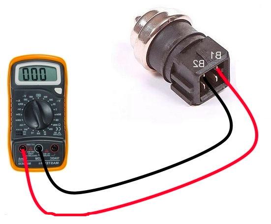 проверка датчика температуры охлаждающей жидкости мультиметром