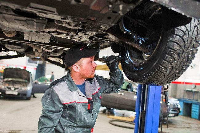 проверка тормозов на автомобиле