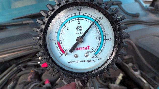 высокое давление масла в двигателе
