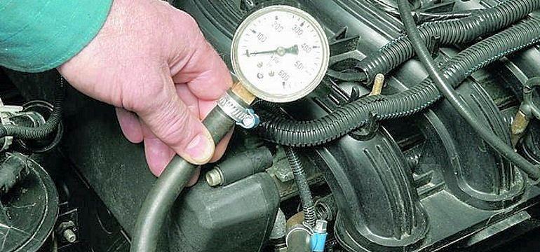 Какое должно быть давление в топливной рампе