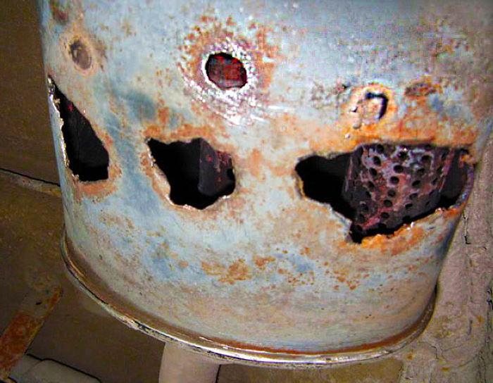 ремонт выхлопной трубы глушителя