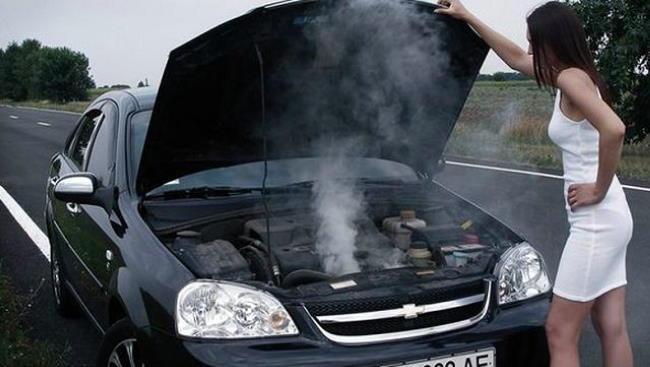 устранение перегрева двигателя автомобиля