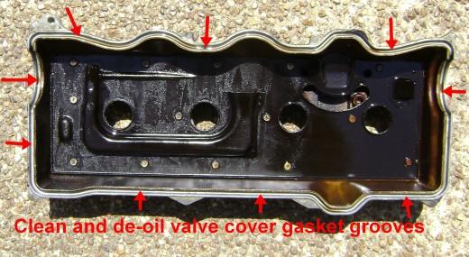 Замена прокладки клапанной крышки 2